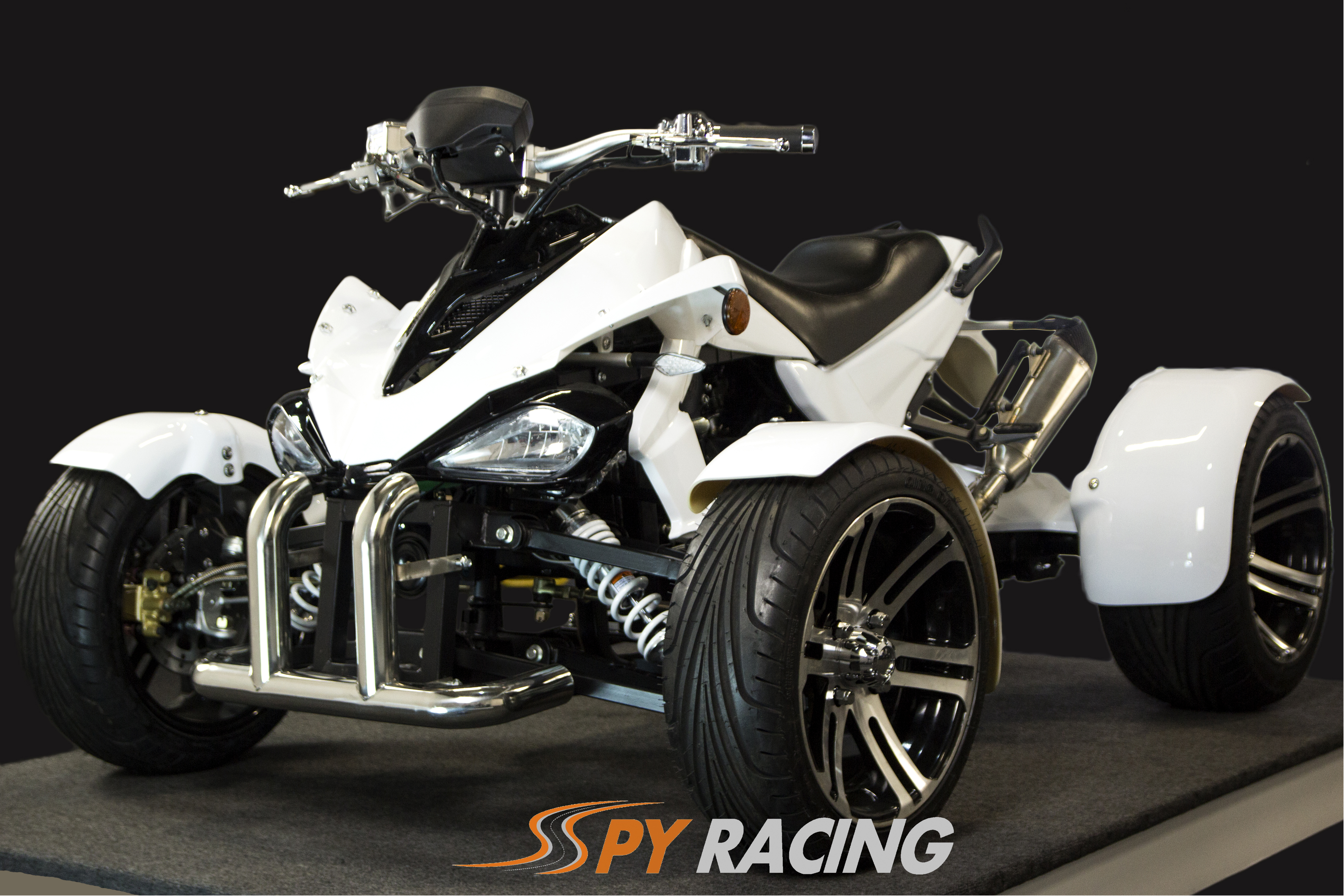 Spy F3 White -Front-Side
